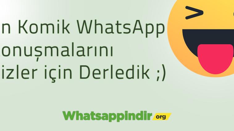 Komik WhatsApp konuşmaları